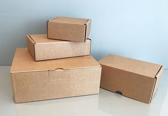 Small Boxes for Posting - Pack of 15