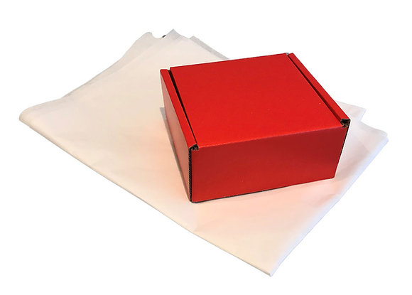 Small Cardboard Packing Boxes - Pack of 50 - Various Colours