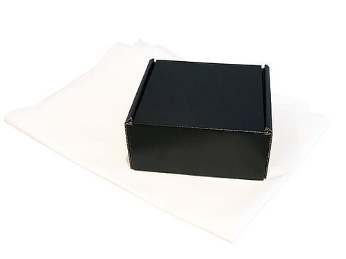 Small Cardboard Packing Boxes - Pack of 5 - Various Colours