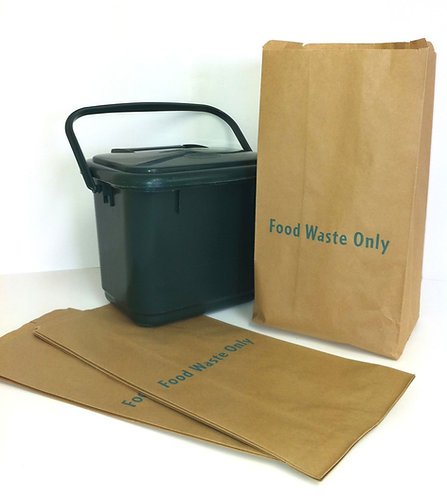 Paper Kitchen Caddy Bin Bags