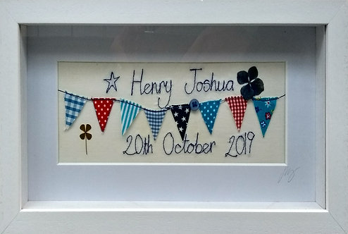 Personalised Stitched Frame
