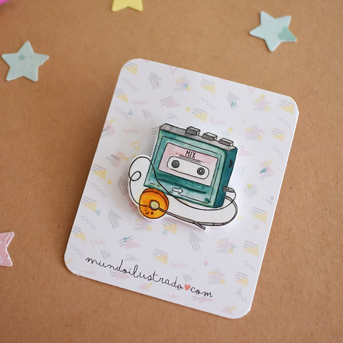 "Pin ""Cassette 80"""