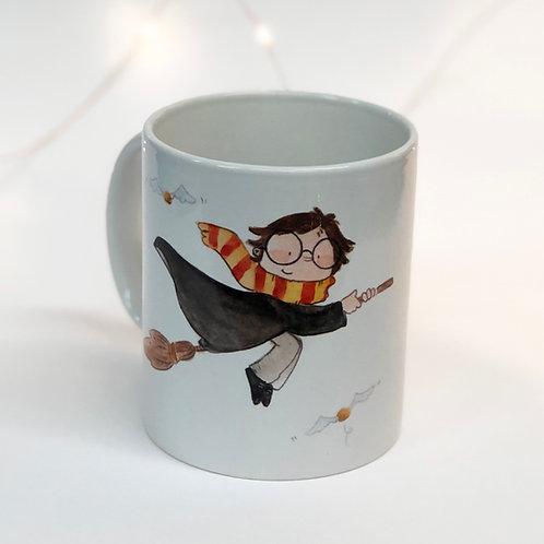 """Taza """"Harry Potter"""" (Fan Art)"""
