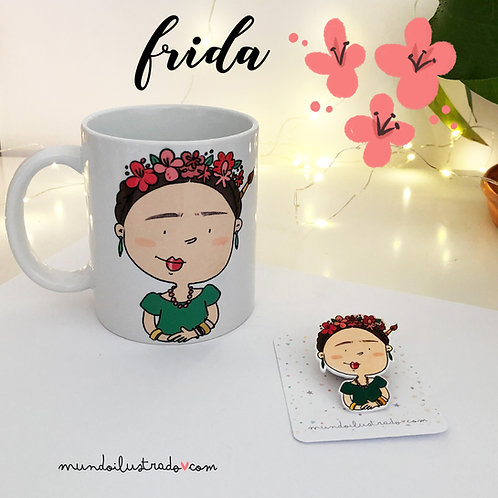 Taza Frida (Fan Art)