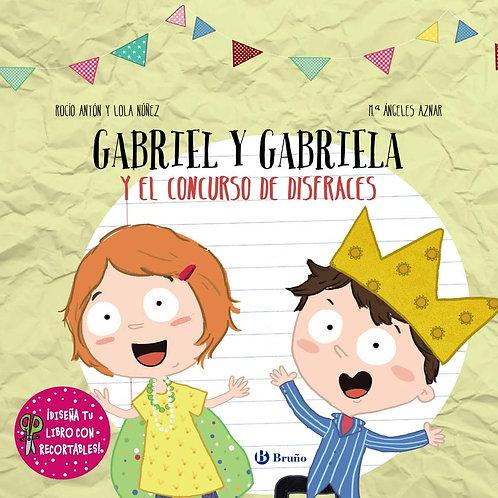 Gabriel y Gabriela, el concurso de disfraces