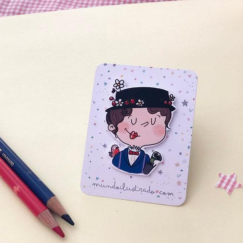 "Pin Mary Poppins ""1964"" (Fan Art)"