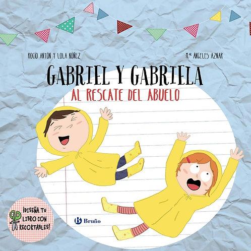 Gabriel y Gabriela, al rescate del abuelo