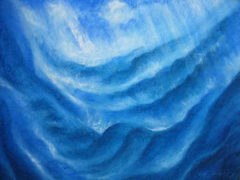 29503309_kW554-L Ocean Storm watercolor and pastels