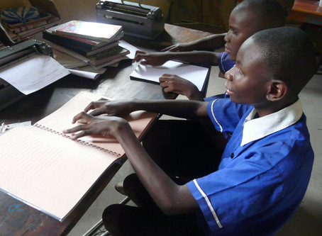 Pioneering education for blind students