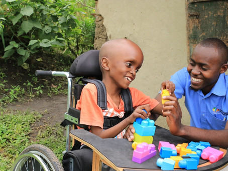 Six years, 18 therapists & 3500 children: KCDC's incredible story...