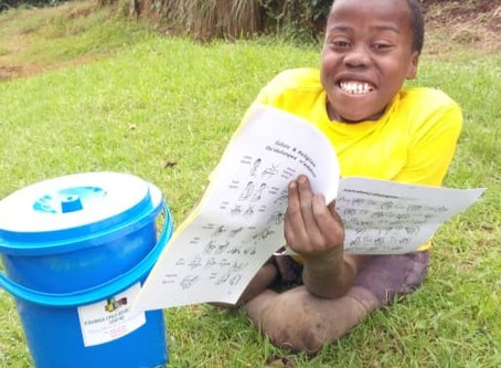 Saving lives with buckets of love
