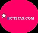 Artistas Logo red..png