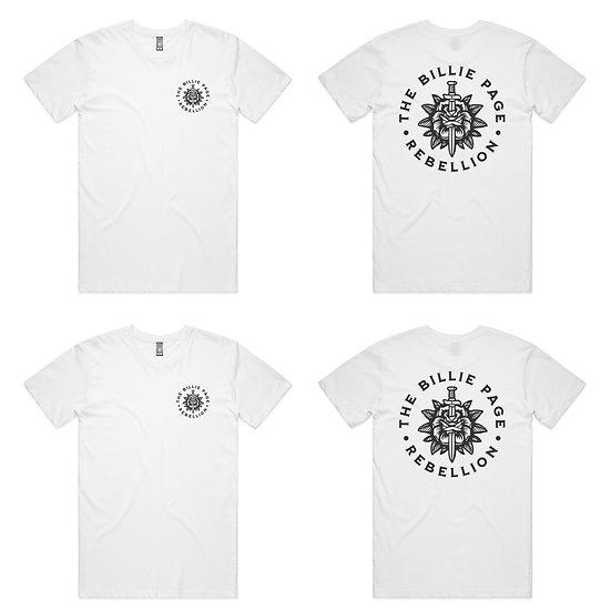 The Billie Page Rebellion T- Shirt - White