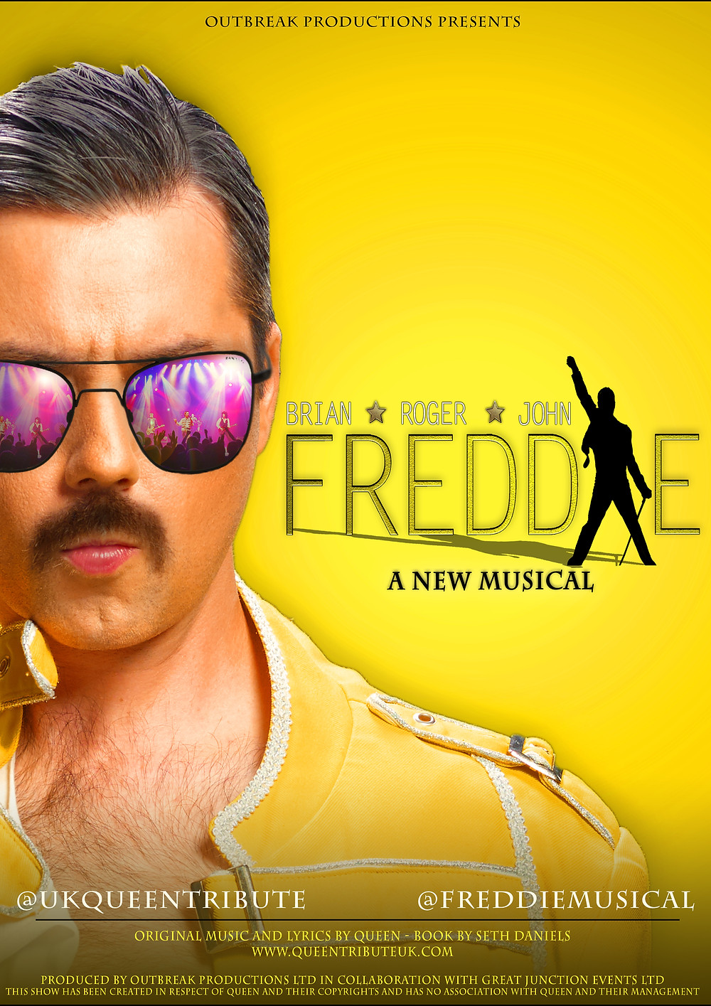 Freddie - The Musical - Poster