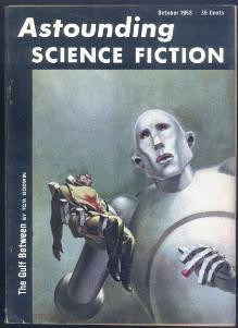 Front cover of October 1953 edition of Astounding Science Fiction