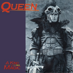 Queen A Kind Of Magic UK Single Cover