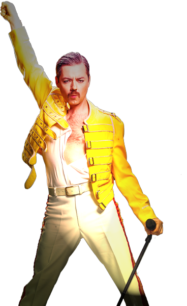 Rob Lea as Freddie Mercury