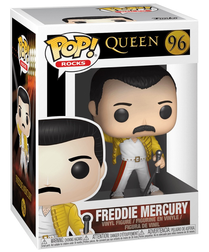 POP! Rocks 96 - Freddie Mercury (Yellow Jacket)