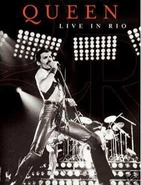 Queen Live In Rio DVD Front Cover