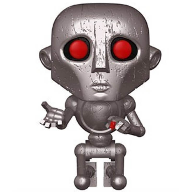 POP! Vinyl of the Robot from Queen's News Of The World