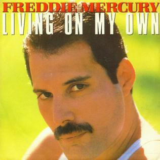 Front Cover of Freddie Mercury's Living On My Own