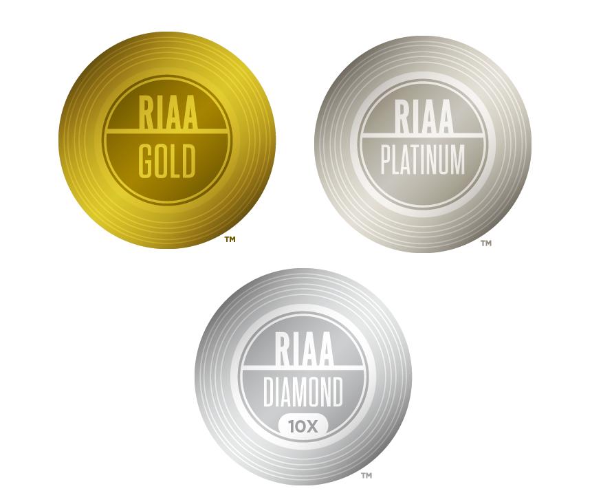 RIAA Gold Platinum and Diamond