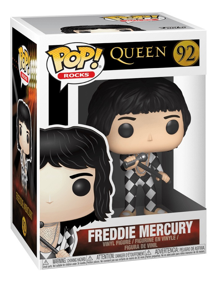 POP! Rocks 92 - Freddie Mercury (Harlequin)