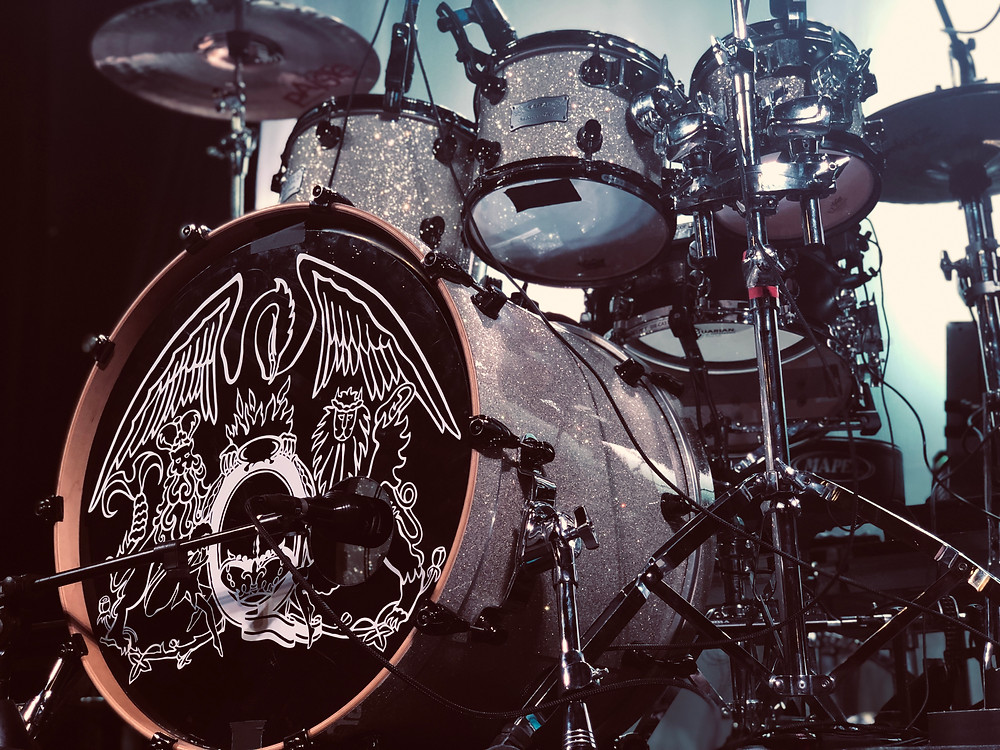 Roger Taylor's Drum Kit - Queen Tribute Majesty