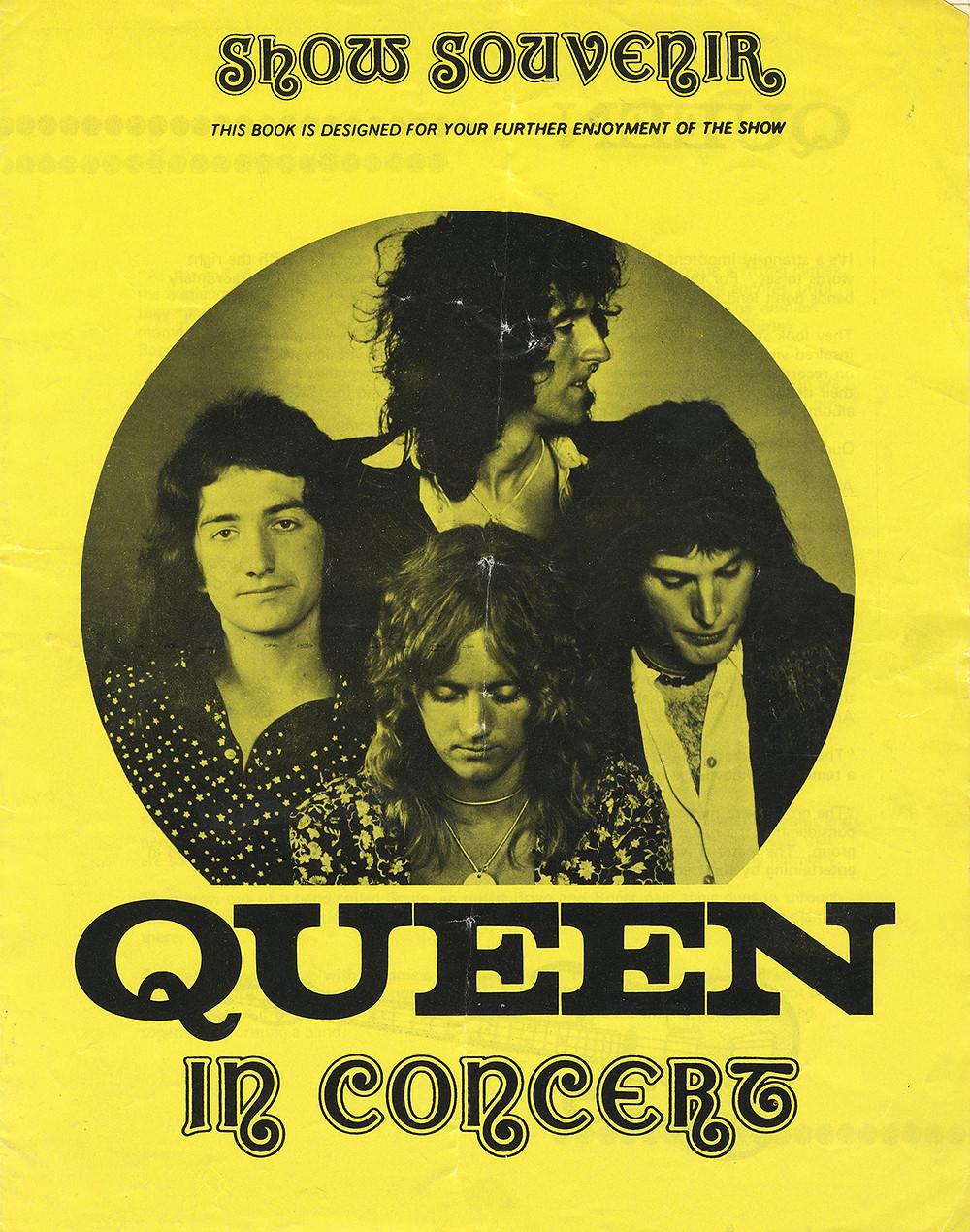 Show Souvenir of Queen in Concert 1973/74
