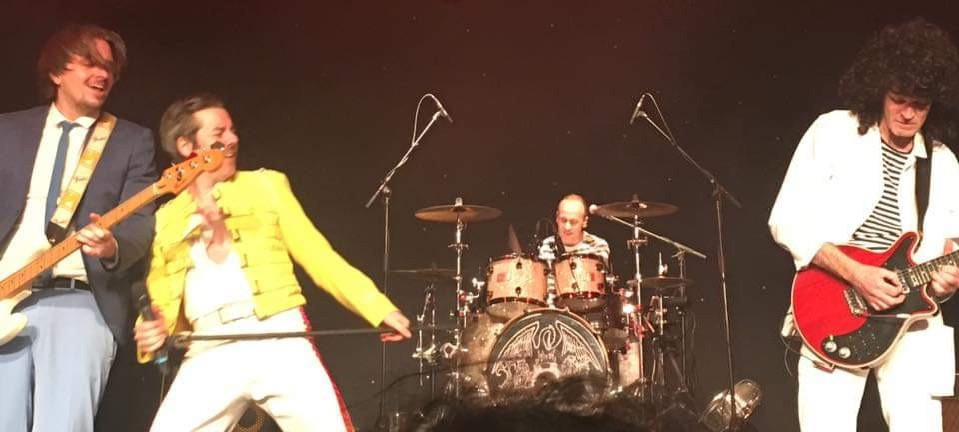 Queen Tribute Band Majesty - Performing Live at Burgess Hall