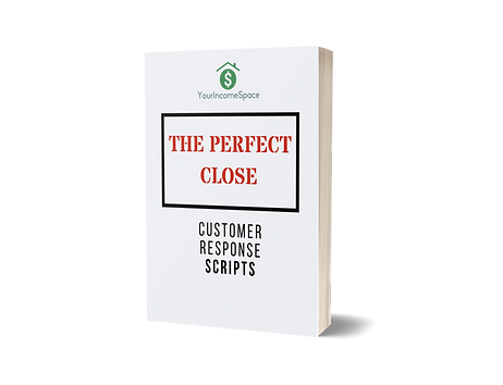 Perfect Close Customer Response Scripts