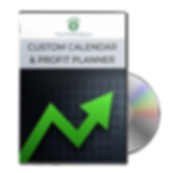 Custom Calendar & Profit Planner (CD Sof
