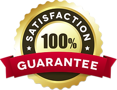 Satisfaction Guarantee - Gold & Red Bann