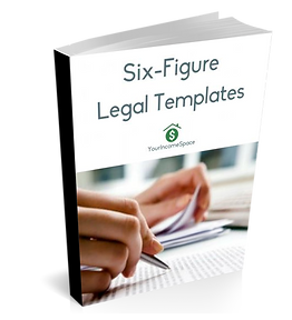 Legal Templates Cover - _Six Figure Legal Templates_ (Book Version).png
