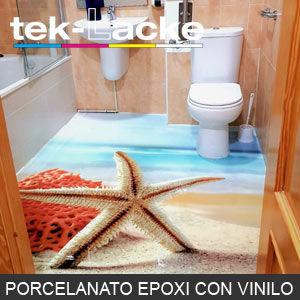 suelos porcelanato epoxi con vinilos
