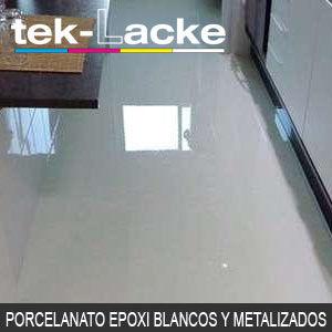 suelos porcelanato epoxi blancos y metal