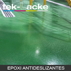 pinturas epoxi suelo PAVIMENTOS antideslizantes