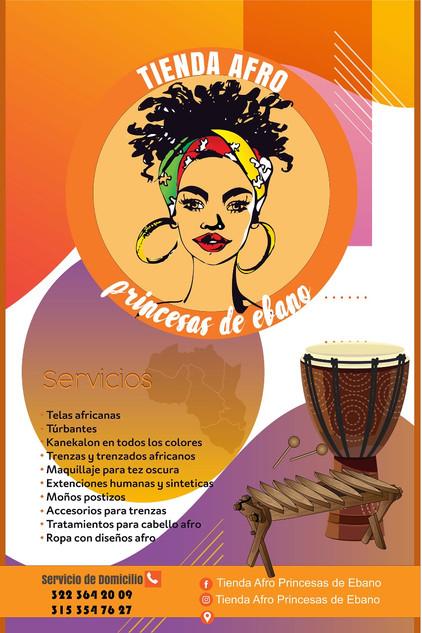 Tienda Afro Princesas de Ébano