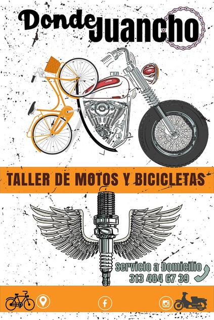 Taller de motos y bicicletasDonde Juanc