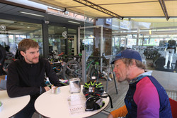 Josh and Jay at Carpentari Shop