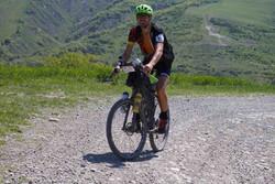 Daniele Bifulco on Radicofani Uphill