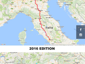 The 2017 route edition is online ! Die Streckenausgabe 2017 ist online ! Il nuovo percorso è online