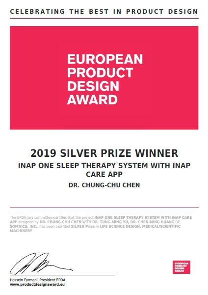 3. iNAP One負壓睡眠呼吸治療裝置及iNAP Care APP榮獲201