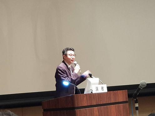 4. 台灣睡眠醫學學會理事長李學禹部長精彩的演講,把台灣的睡眠科技介紹給日本睡眠
