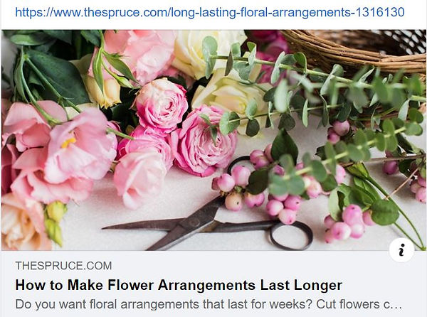 Tutorial 1 Longer lasting arrangements.J