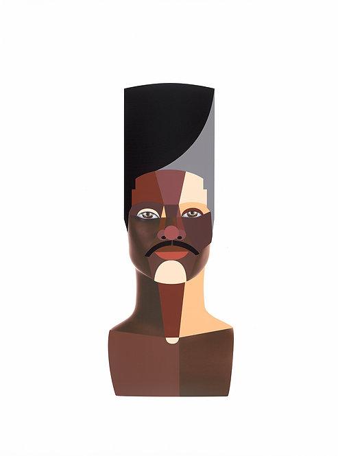 """Style Variation 3 (High Top)"" by Derrick Adams"