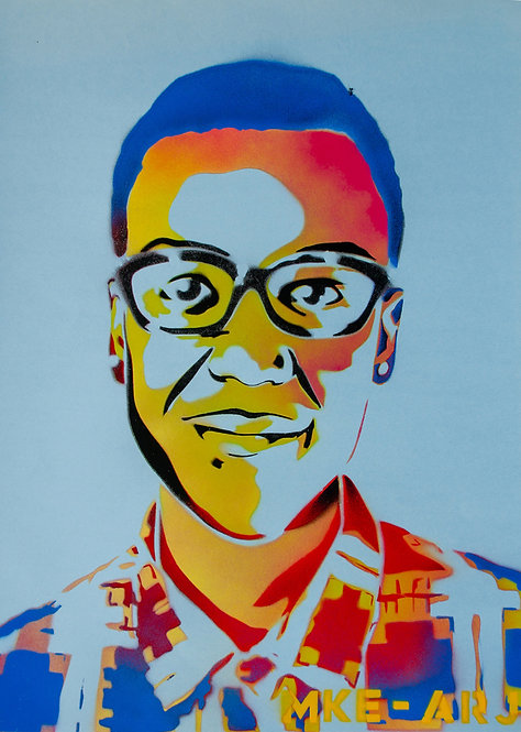 """(SOLD) """"Elijah McClain"""" by Milwaukee Artists for Racial Justice"""