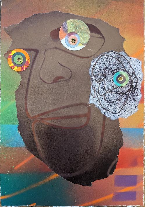 No. 9 by Anwar Floyd-Pruitt
