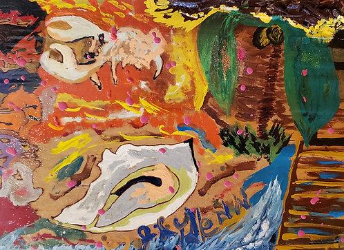 """Tropical Bungalow"" by Jerome Glenn"
