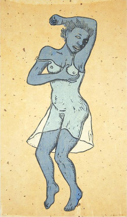 """""""Haint Blue"""" by Alison Saar"""